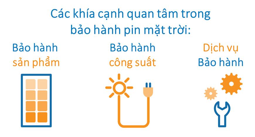 Bảo hành tấm Pin năng lượng mặt trời