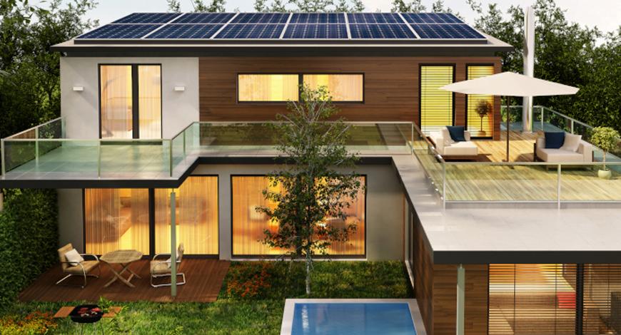 Hệ thống điện năng lượng mặt trời cho hộ gia đình